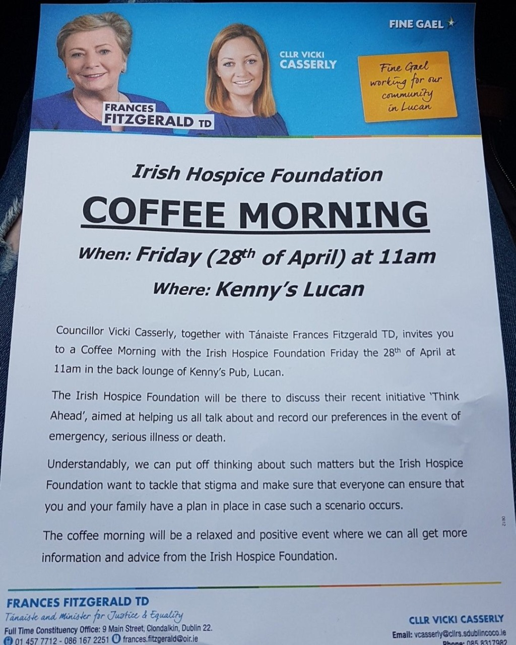 Hospice Morning poster