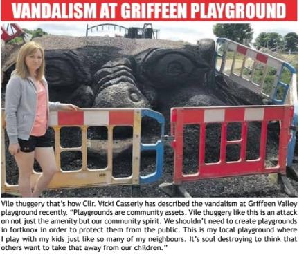 news article playground